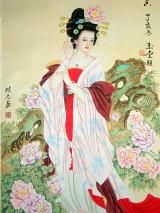楊貴妃絵画『國色天華』