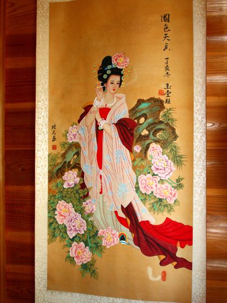 楊貴妃の絵